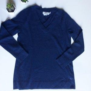 Vineyard Vines Navy XXS Wool Cashmere Sweater